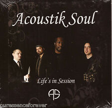 ACOUSTIK SOUL - Life's In Session (German 11 Tk CD Album)