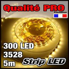 802/5# Strip LED 3528 Blanc chaud 300LED bobine 5m