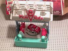 Disney Cars MINI Adventures FLO'S V8 Cafe Playset Open Box w Mini RS McQueen