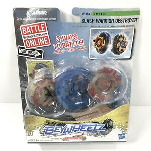 Beyblade Beywheelz Slash Warrior Destroyer W-03 Speed Toy Hasbro Battle Launch
