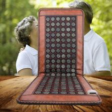 Stone Heating Mat Tourmaline Natural Jade Negative Ions Infrared Pad Massager