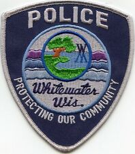 WHITEWATER WISCONSIN WI Protecting Our Community POLICE PATCH