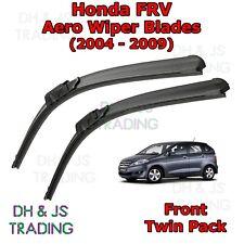 (04-09) Honda FR-V Aero Wiper Blades / Front Windscreen Flat Blade Wipers FRV