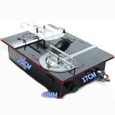 DIY Desktop Woodworking Table saw Grinder Electric PCB cutting machine