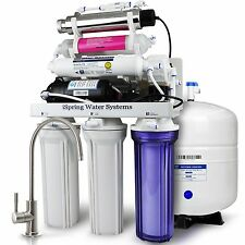 iSpring #RCC1UP-AK 7-Stage 100 GPD Reverse Osmosis Water Filtration System