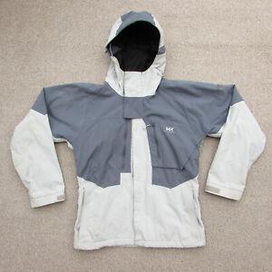 HELLY HANSEN HELLY TECH XP Waterproof Ski / Snowboard Jacket Grey size S (small)