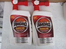 X2 SET OF 2 AMDRO Quick Kill Ready Spray Lawn Landscape Insect Killer 32 oz ANTS