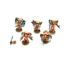 BLOOD ANGELS 5 sanguinary Guards #3 WELL PAINTED Warhammer 40K guard