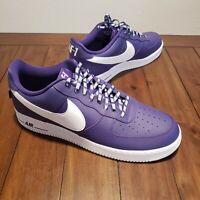Nike Air Force 1 Statement Game 07 NBA Purple 823511-501 - Men's Size 17