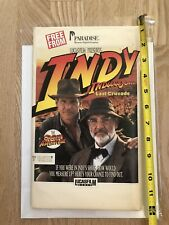 """New - Indiana Jones and the Last Crusade: The Graphic Adventure 5.25"""" (Pc, 1989)"""