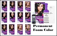 Schwarzkopf PERFECT MOUSSE Permanent Foam Hair Colour  Ammonia Free