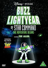 BUZZ LIGHTYEAR OF STAR COMMAND THE ADVENTURE BEGINS DISNEY UK REGION 2 DVD NEW