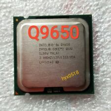 Intel Core 2 Quad Q9650 3.0 GHz 12M 1333MHz 4-Core Processor LGA 775 CPU Tested