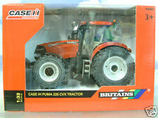 EXCELLENT BRITAINS 1/32 DIECAST CASE IH PUMA 225 CVX FARM TRACTOR IN RED 42609