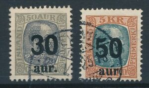 [59279] Iceland 1925 good set Used Very Fine stamps $75