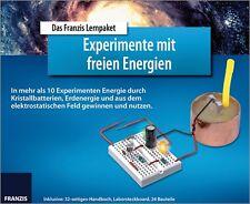 Das Franzis Lernpaket Experimente mit freien Energien - Experimentierkasten