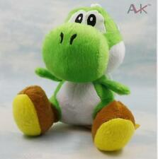 "New Cute Green Super Mario Bros Yoshi dragon 7"" Soft Plush Toy Doll   ECZ"