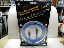 Transparent S-Video Cable 2 Meters HPTSV 2 Model NOS