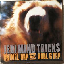 "JEDI MIND TRICKS - ANIMAL RAP (12"") 2002!!  RARE!!  KOOL G + VININE PAZ + STOUPE"