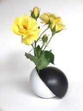 Präsent # kleine Kugel Vase # Objekt # Kleinplastik # Keramik # Halbkugeln