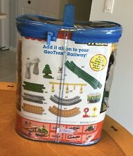 GeoTrax Transportation System Special Track Pack, Red & Yellow Trolly M6462