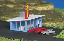 Bachmann 45709 N Scale Drive-In Burger Stand Assembled HH