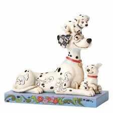 Disney Traditions 101 Dalmations 55th Anniversary Figurine -Puppy Love-Jim Shore