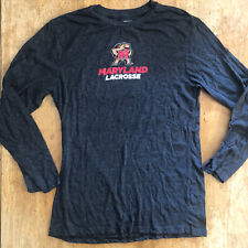 Maryland Lacrosse T-Shirt Men's Medium Gray