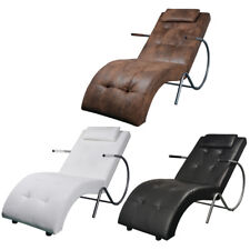 vidaXL Liegesessel Chaiselongue Relaxsessel Liege mit Kopfstütze mehrere Auswahl
