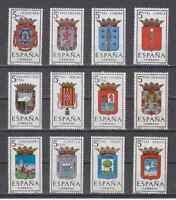 SPAIN (1963) - MNH - Sc# 1057/68 - EDIFIL 1481/92 PROVINCIAL ARMS
