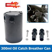 Aluminium Oil Catch Can Tank Bottle Baffled Petrol Diesel Turbo Tank Reservoir