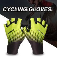 Antiskid Cycling Gloves Bike Half Finger Gloves MTB Short Finger Sports Gloves