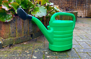 10l watering can with rose holder