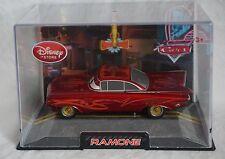Disney Store Pixar Cars Red Ramone Die Cast Car 1:43 Scale NEW Hard Plastic Case