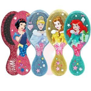 NEW!!! Wet Brush MINI Detangler Hair Brush - GLITTER PRINCESS - CHOOSE YOURS