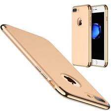 coque antichocs Or luxueuse aspect rigide contour doré Apple iPhone 7 Plus