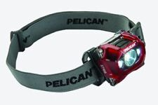 NEW Pelican Flashlights 2760 Pro Gear Led Headlite - in RED - Torch Lights