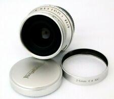 125 Voigtlander Snapshot Skopar 25mm f/4 MC for Leica L39 **EXC+++** Ship By DHL