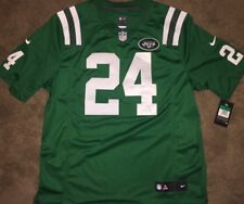 88b40ea9213 Men s New York Jets Darrelle Revis Nike Green Color Rush Limited Jersey XL