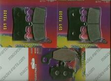 Kawasaki Disc Brake Pads ZX600 Ninja 1998-2002 & 2005-2008 Front & Rear (3 sets)