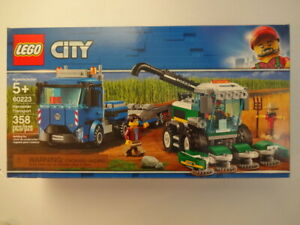 LEGO 60223 CITY Harvester Transport NEW in FACTORY SEALED Box NISB