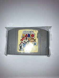 paper Mario Nintendo 64 100% AUTHENTIC TESTED WORKS!!!!!!!