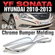 Chrome Bumper Garnish Molding C330 For HYUNDAI 2011-2014 YF Sonata / i45