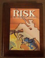 Risk Parker Brothers Vintage Game Collection Wooden Book Box - Read Description