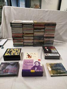 GROS LOT 100 + CD Compact Disc divers musique ancien Schubert C Francois 101