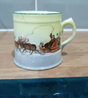 Antique Christmas Royal Doulton Series ware small Santa On His Sleigh Mug 80153