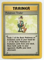 Miscut Pokemon Trader - Base Set - 77/102 - Rare - Pokemon Card - Heavily Played