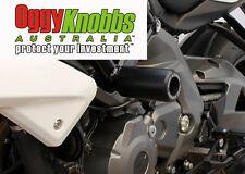 OK430 BENELLI BN600 2014-18 OGGY KNOBBS NO CUT KIT (Black Knobbs) Frame Sliders