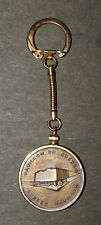 "Expo '67 Montreal World's Fair Keychain-1 3/8"" Bronze Quebec Pavilion Medal"
