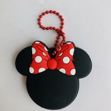 Minnie mouse bowknot Key Met Protective Cover key chain decorate new
